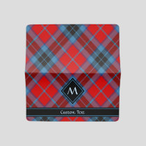 Clan MacTavish Tartan Checkbook Cover