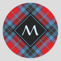 Clan MacTavish Tartan Classic Round Sticker