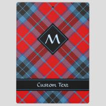 Clan MacTavish Tartan Clipboard