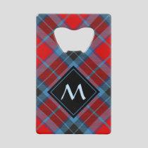Clan MacTavish Tartan Credit Card Bottle Opener