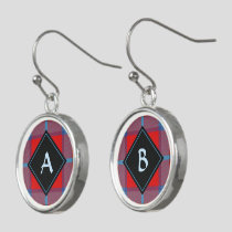 Clan MacTavish Tartan Earrings