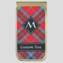 Clan MacTavish Tartan Gold Finish Money Clip
