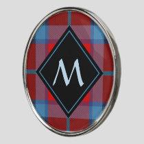 Clan MacTavish Tartan Golf Ball Marker