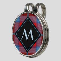 Clan MacTavish Tartan Golf Hat Clip