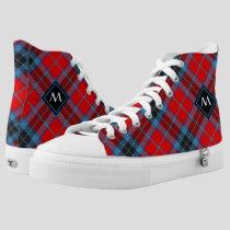 Clan MacTavish Tartan High-Top Sneakers