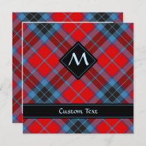 Clan MacTavish Tartan Invitation
