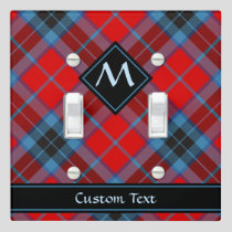 Clan MacTavish Tartan Light Switch Cover
