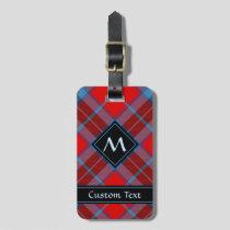 Clan MacTavish Tartan Luggage Tag