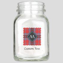 Clan MacTavish Tartan Mason Jar