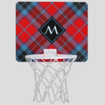 Clan MacTavish Tartan Mini Basketball Hoop
