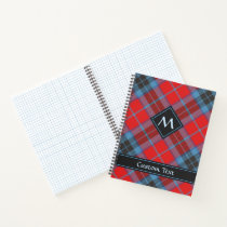 Clan MacTavish Tartan Notebook