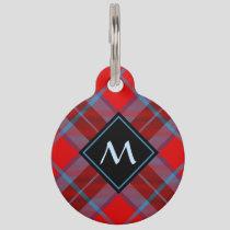 Clan MacTavish Tartan Pet ID Tag