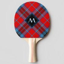Clan MacTavish Tartan Ping Pong Paddle