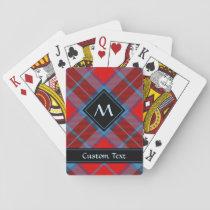 Clan MacTavish Tartan Playing Cards