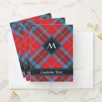 Clan MacTavish Tartan Pocket Folder