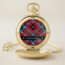 Clan MacTavish Tartan Pocket Watch