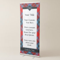 Clan MacTavish Tartan Retractable Banner