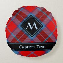 Clan MacTavish Tartan Round Pillow