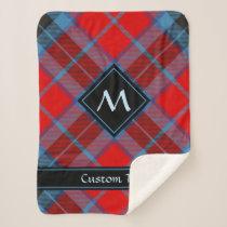 Clan MacTavish Tartan Sherpa Blanket