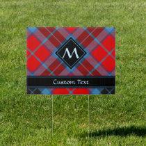 Clan MacTavish Tartan Sign