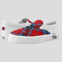 Clan MacTavish Tartan Slip-On Sneakers