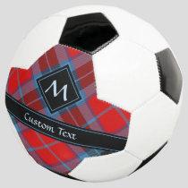 Clan MacTavish Tartan Soccer Ball