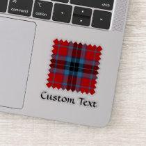 Clan MacTavish Tartan Sticker