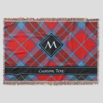 Clan MacTavish Tartan Throw Blanket