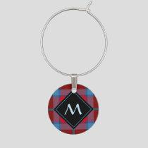 Clan MacTavish Tartan Wine Charm