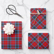 Clan MacTavish Tartan Wrapping Paper Sheets