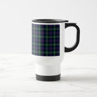 Clan Malcolm Tartan 15 Oz Stainless Steel Travel Mug