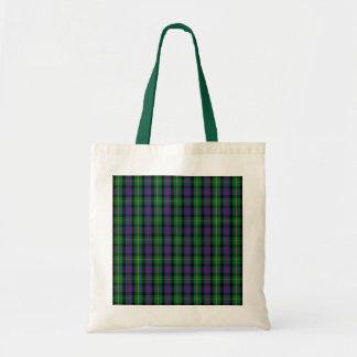 Clan Malcolm Tartan Budget Tote Bag