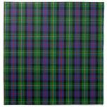 Clan Malcolm Tartan Cloth Napkins