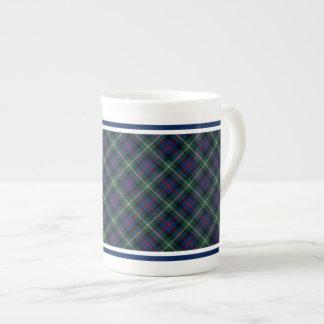 Clan Malcolm Tartan Tea Cup