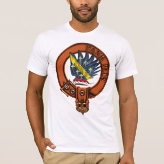 Clan Mar Family Crest and Targe T-Shirt