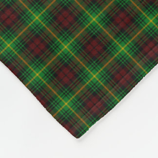 Clan Martin Tartan Fleece Blanket