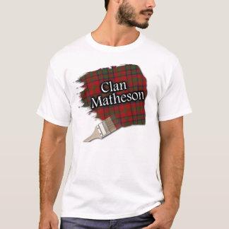 Clan Matheson Scottish Tartan Paint Shirt