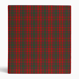 Clan Matheson Tartan 3 Ring Binder