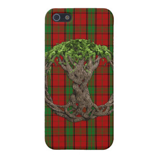 Clan Maxwell Tartan And Celtic Tree Of Life Case For iPhone SE/5/5s