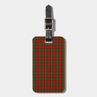 Clan Maxwell Tartan Luggage Tags