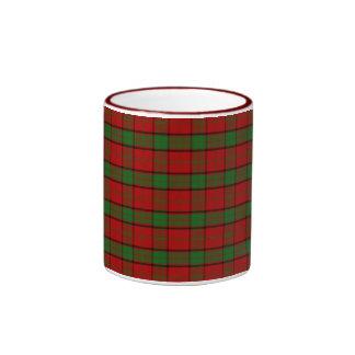 Clan Maxwell Tartan Ringer Mug