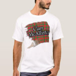 Clan McAllister Scottish Tartan Paint Shirt