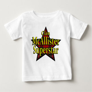 Clan McAllister Superstar Infant T-Shirt