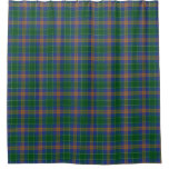 Clan McAuliffe MacAuliffe Irish Tartan Shower Curtain