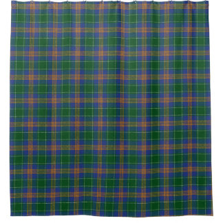 Clan McAuliffe MacAuliffe Irish Tartan Shower Curtain