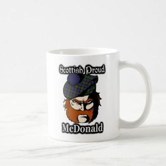 Clan McDonald Tartan Scottish Coffee Mug