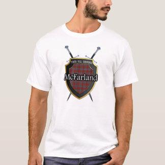 Clan McFarland Tartan Scottish Shield & Swords T-Shirt