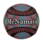 Clan McNamara MacNamara Irish Dream Tartan Plaid Baseball