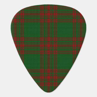 Clan Menzies Hunting Sounds of Scotland Tartan Guitar Pick
