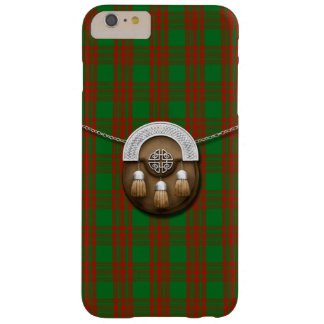 Clan Menzies Tartan And Sporran Barely There iPhone 6 Plus Case